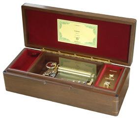 50弁最高級木製BOX(電動式)ブラウン