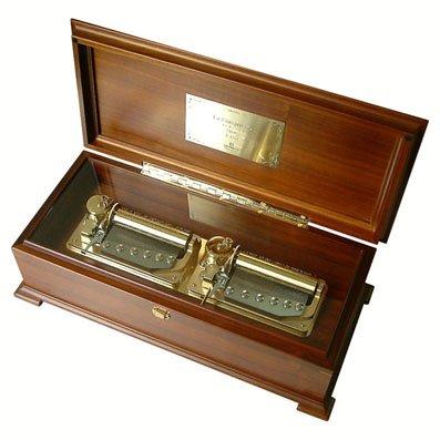 100弁超最高級木製BOX(ウォールナット)