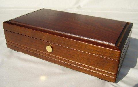 50弁最高級木製BOX(ウオールナット)