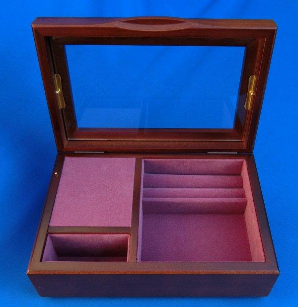 23弁木製宝石箱B