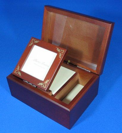 23弁木製宝石箱C