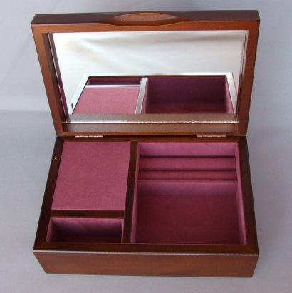 23弁木製宝石箱F