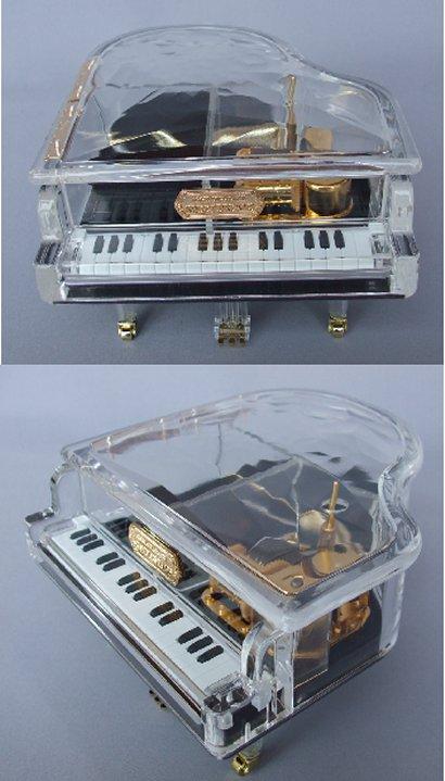 18弁アクリルピアノ